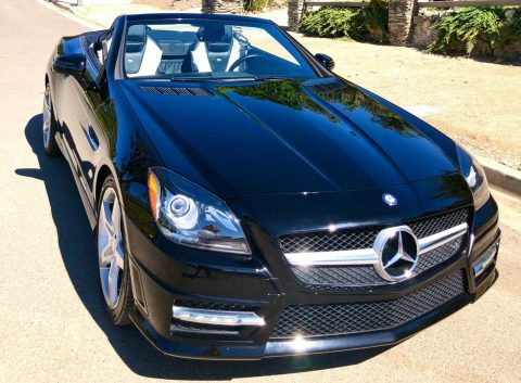 Designo edition 2013 Mercedes Benz SLK Class Slk250 convertible for sale