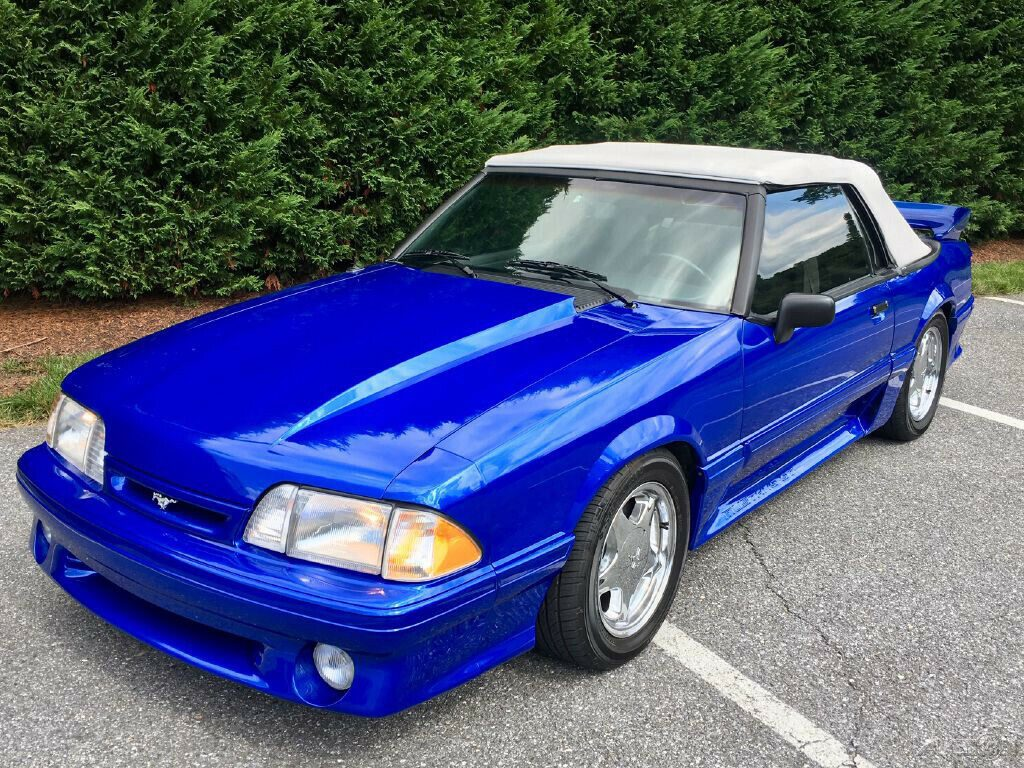 excellent 1991 Ford Mustang GT convertible