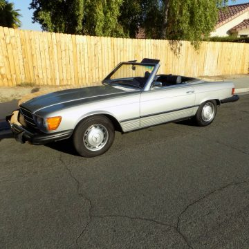 great shape 1975 Mercedes Benz 450 SL Class convertible for sale