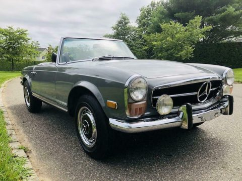 low miles 1970 Mercedes Benz SL Class 280SL convertible for sale