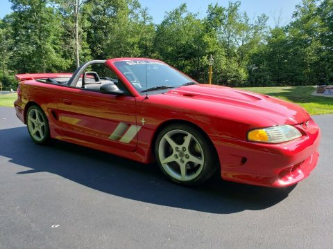 low miles 1995 Ford Mustang Saleen S351 Speedster convertible for sale