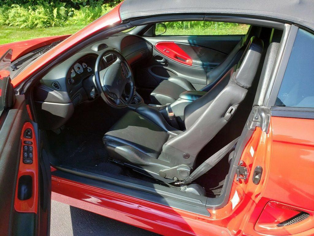 low miles 1995 Ford Mustang Saleen S351 Speedster convertible