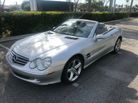 no issues 2004 Mercedes Benz SL Class convertible for sale