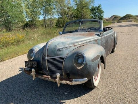 project 1939 Mercury Convertible for sale