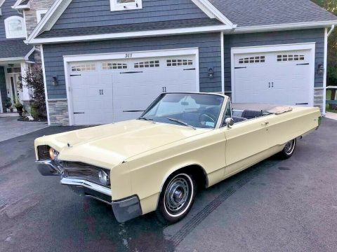 rare 1967 Chrysler 300 Series convertible for sale
