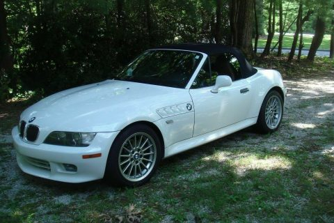 recently detailed 2002 BMW Z3 3.0i convertible for sale
