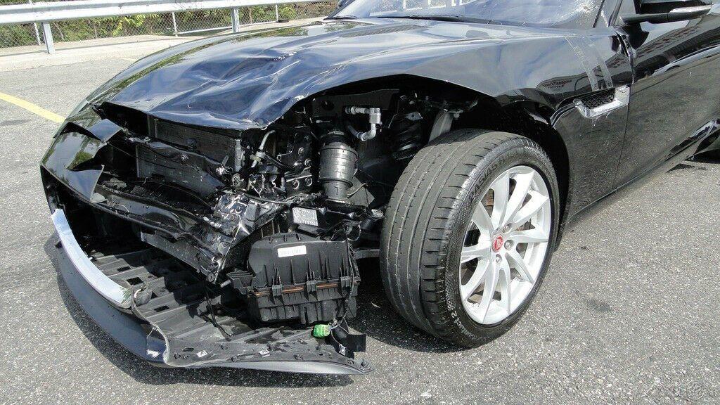 repairable 2017 Jaguar F Type 3.0L V6 Supercharger convertible