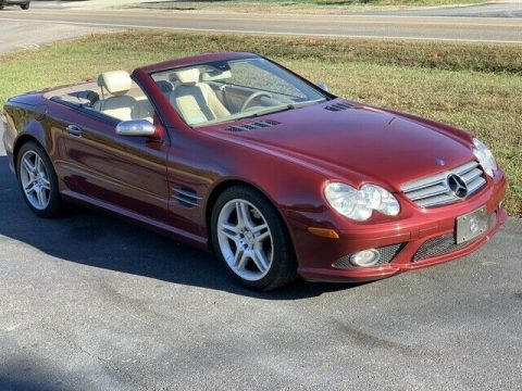 serviced 2007 Mercedes Benz SL 550 convertible for sale