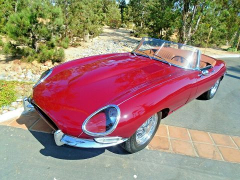 british classic 1964 Jaguar XKE convertible for sale