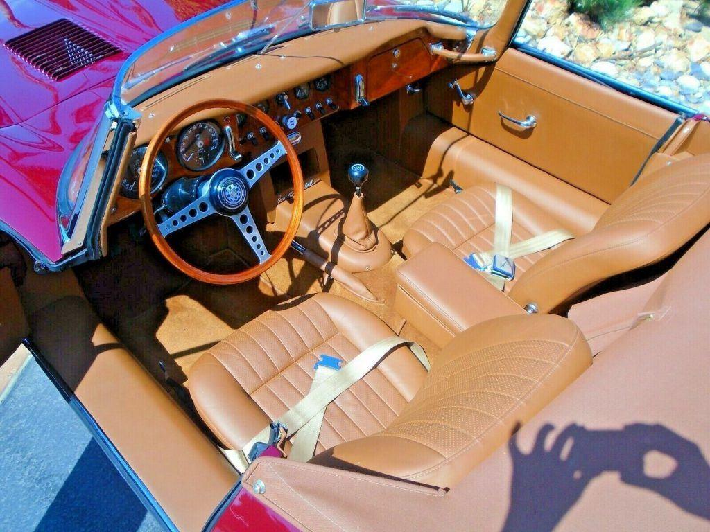 british classic 1964 Jaguar XKE convertible