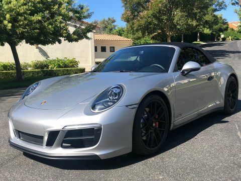 loaded 2019 Porsche 911 convertible for sale