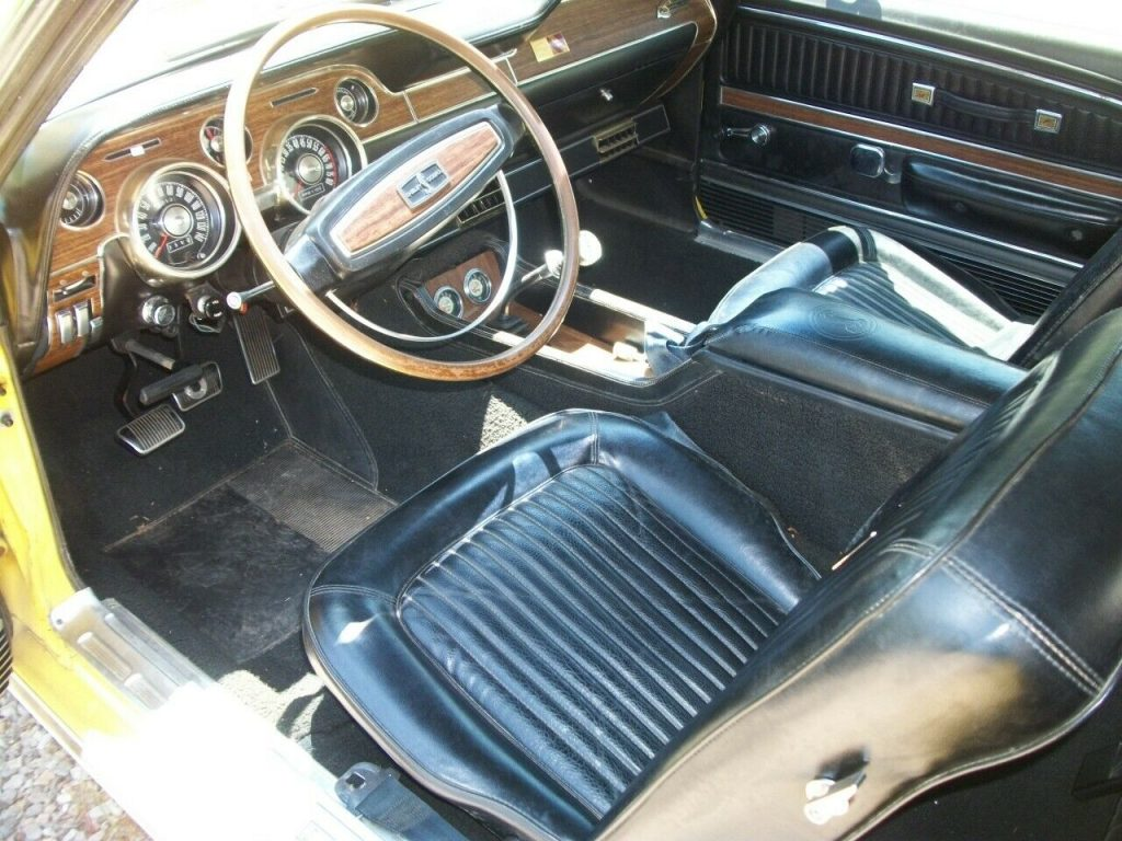 low miles 1968 Ford Mustang GT500KR convertible