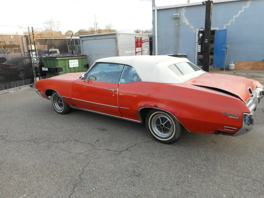 new top 1972 Buick Skylark Convertible