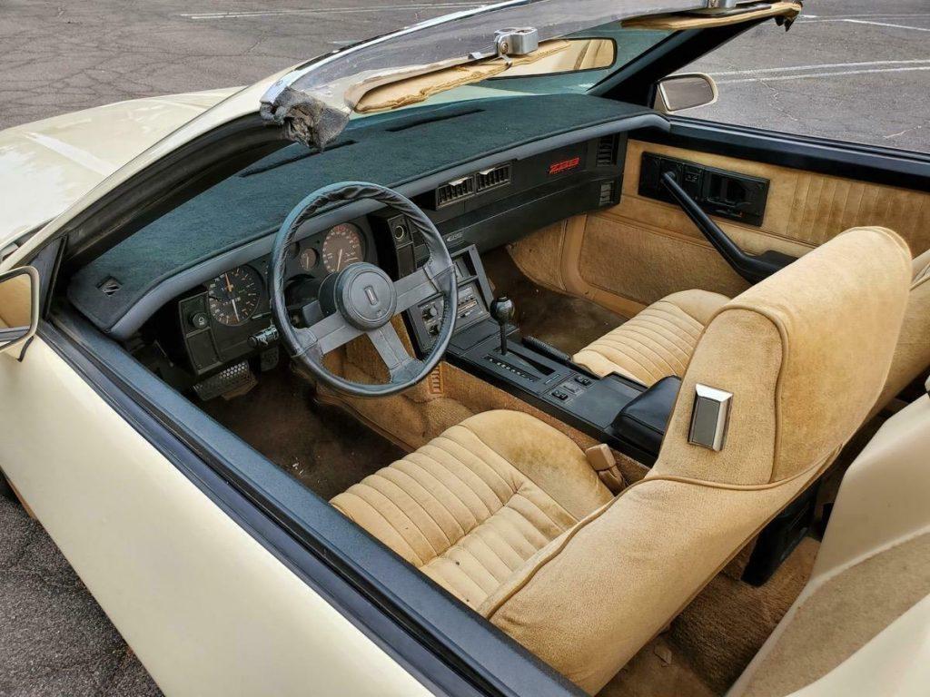 rare 1983 Chevrolet Camaro Z28 Autoform Speedster convertible