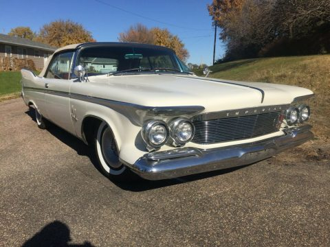 stunning 1961 Chrysler Imperial crown Convertible for sale