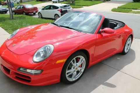 well maintained 2007 Porsche 911 Carrera S Convertible for sale