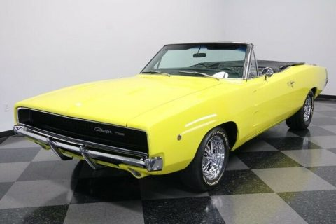 big block 1968 Dodge Charger Custom Convertible for sale