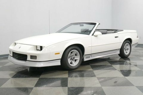 low miles 1988 Chevrolet Camaro convertible for sale