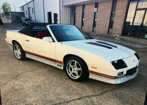rare 1987 Chevrolet Camaro Z28 convertible for sale
