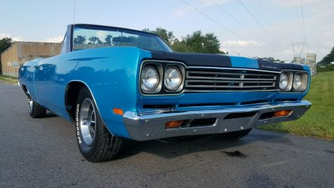 restored 1969 Plymouth Road Runner Convertible for sale