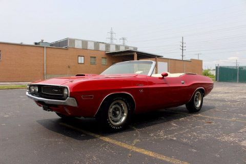 restored 1970 Dodge Challenger Convertible for sale