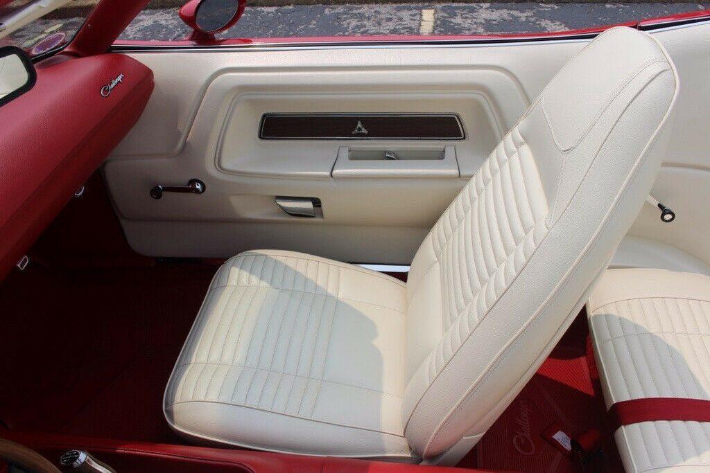 restored 1970 Dodge Challenger Convertible