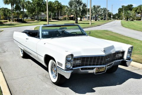 Beautifully Restored 1967 Cadillac Deville Convertible for sale
