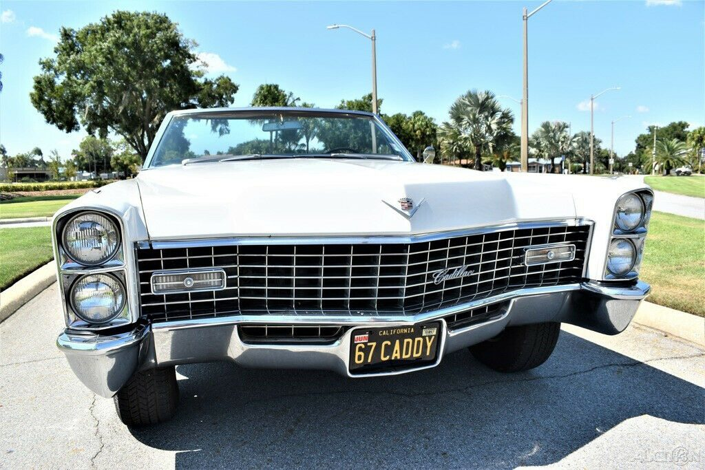 Beautifully Restored 1967 Cadillac Deville Convertible