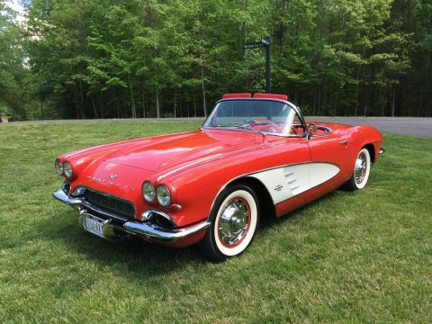 Frame Off Restoration 1961 Chevrolet Corvette Convertible for sale