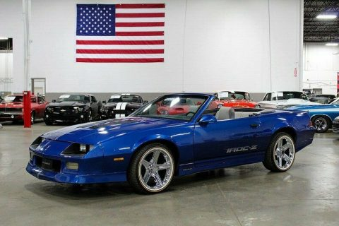 low miles 1989 Chevrolet Camaro Convertible for sale
