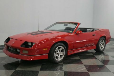 low miles 1989 Chevrolet Camaro IROC Z/28 Convertible for sale