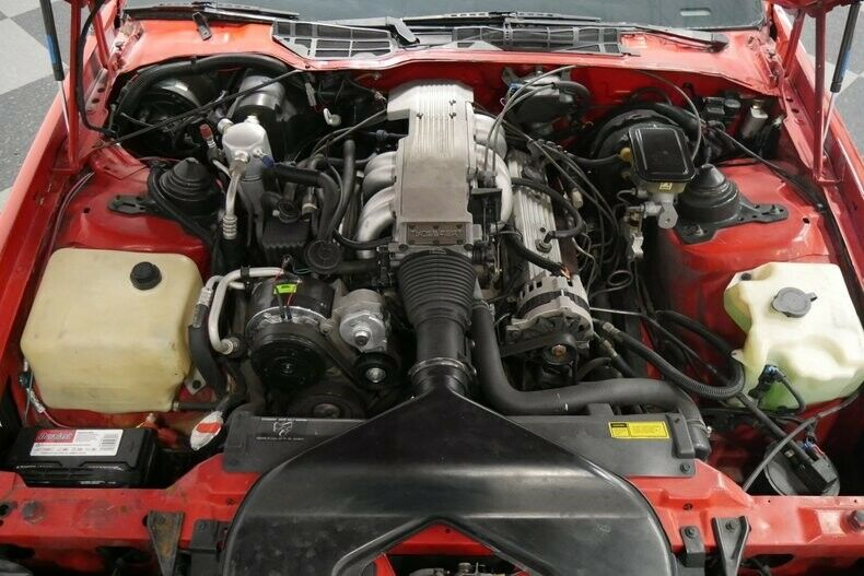 low miles 1989 Chevrolet Camaro IROC Z/28 Convertible