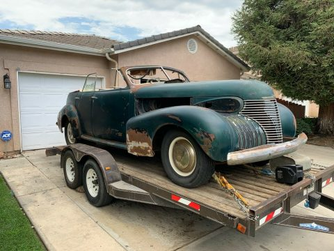 rare 1940 Cadillac 40 Sedan Convertible for sale