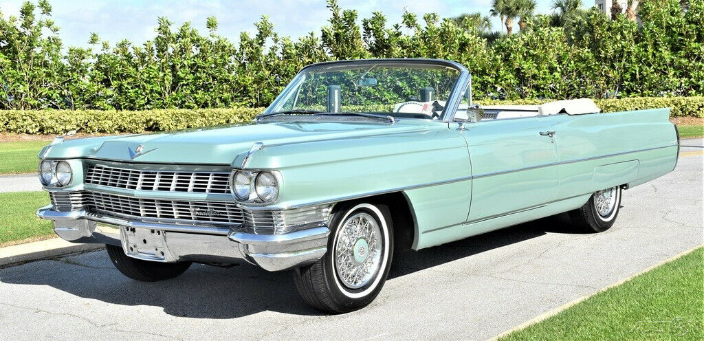 restored 1964 Cadillac Deville Convertible for sale