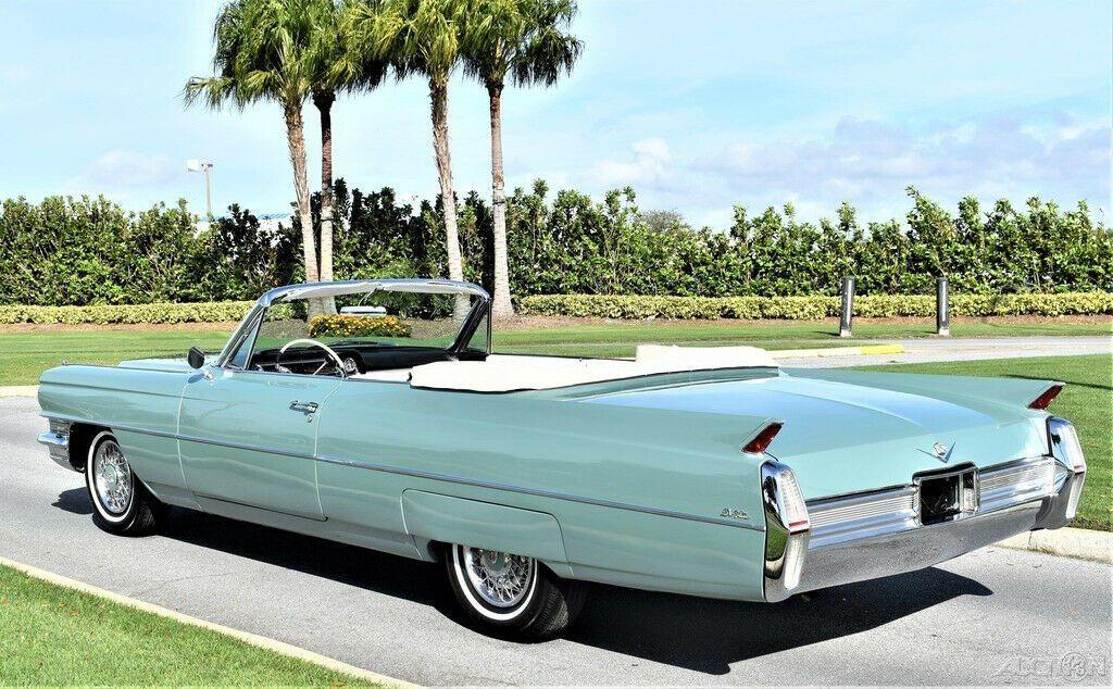restored 1964 Cadillac Deville Convertible