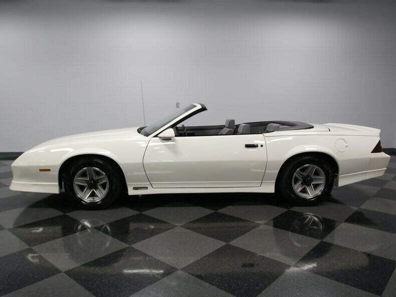 restored 1989 Chevrolet Camaro RS Convertible