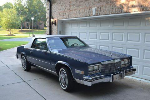 smooth running 1984 Cadillac Eldorado Biarritz CONVERTIBLE for sale