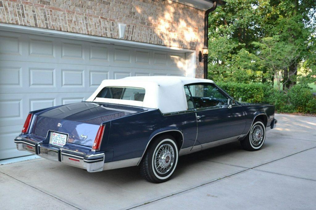 smooth running 1984 Cadillac Eldorado Biarritz CONVERTIBLE
