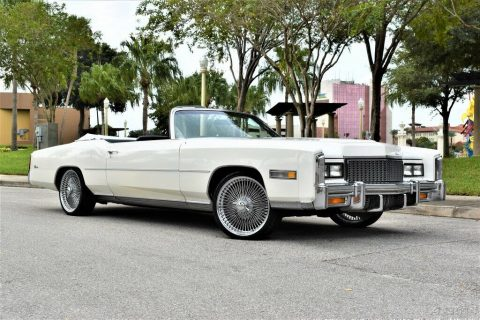 stunning 1976 Cadillac Eldorado Convertible for sale