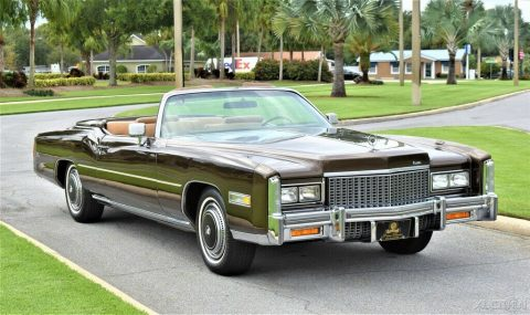 Stunning original 1976 Cadillac Eldorado Convertible for sale