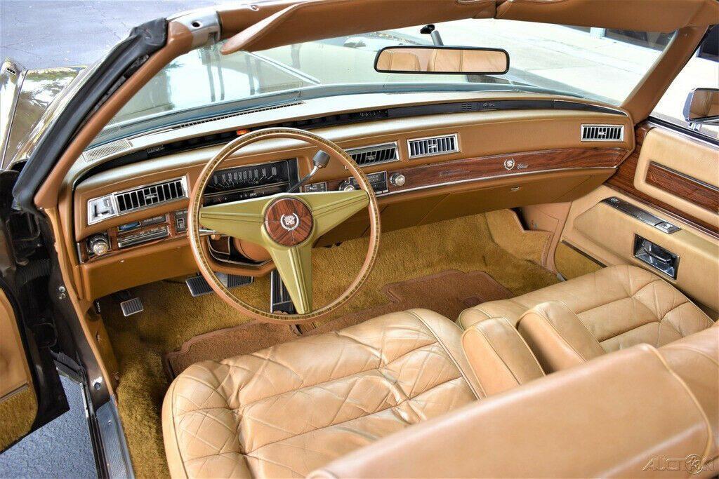 Stunning original 1976 Cadillac Eldorado Convertible
