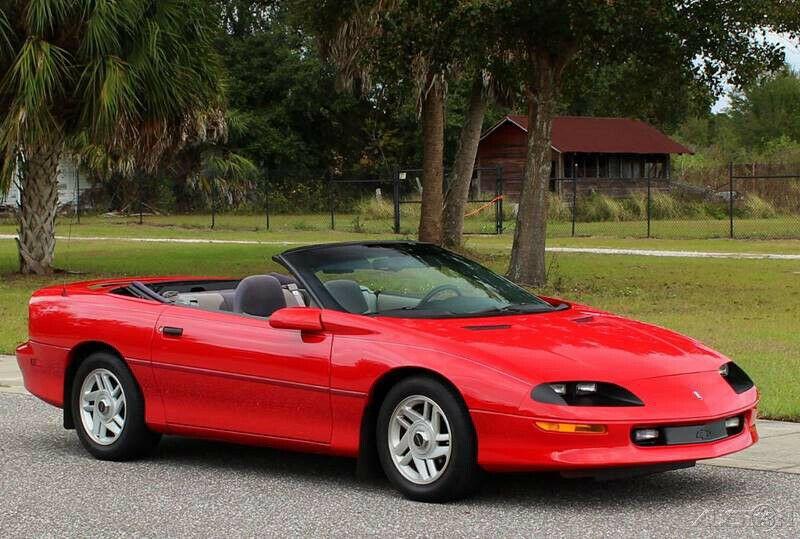 base 1995 Chevrolet Camaro Convertible