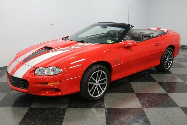 beautiful 2002 Chevrolet Camaro SS 35TH Anniversary SLP Edition Convertible