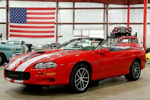 beautiful 2002 Chevrolet Camaro Z/28 SS Convertible for sale