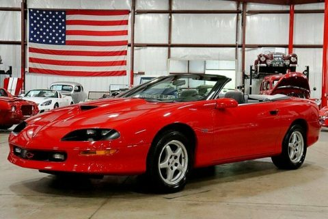 clean 1997 Chevrolet Camaro Z/28 SS Convertible for sale