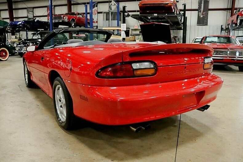 clean 1997 Chevrolet Camaro Z/28 SS Convertible