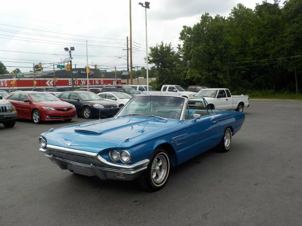 excellent shape 1965 Ford Thunderbird Convertible