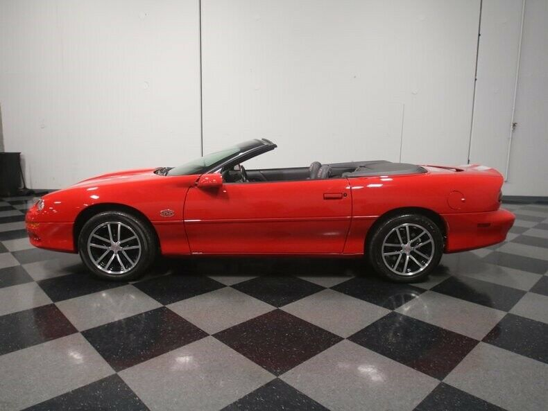 loaded 2002 Chevrolet Camaro SS 35TH Anniversary SLP Edition Convertible