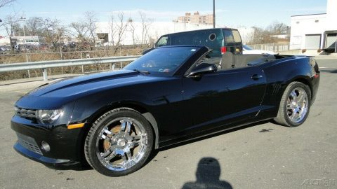 low miles 2014 Chevrolet Camaro 1LT 3.6L V6 convertible for sale