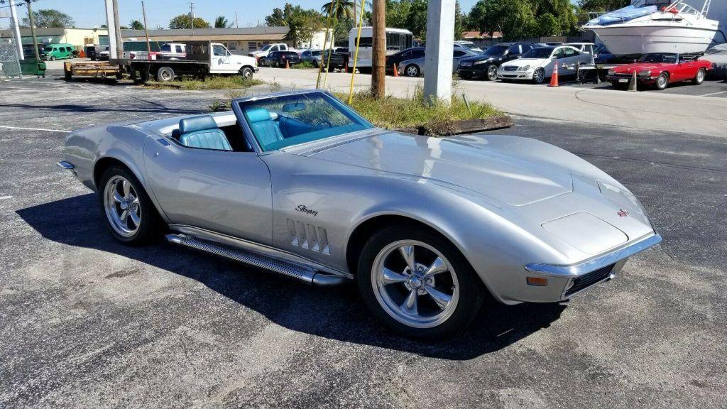 rare 1969 Chevrolet Corvette C03 convertible